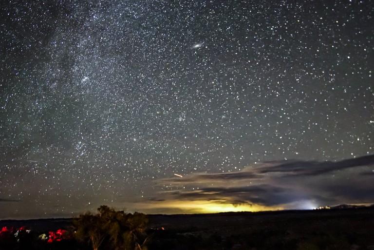 Moab night sky
