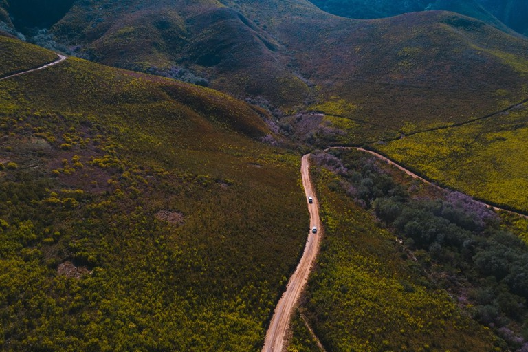 Driving the quiet backroads of the Overberg