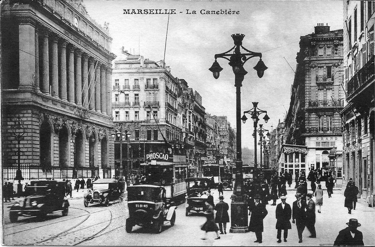 The Canebière in Marseille