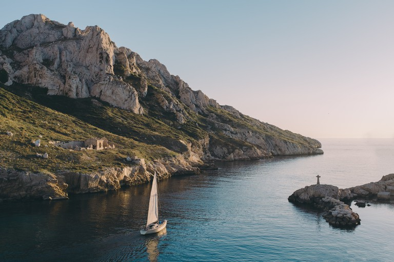 Marseille is right on the Calanques, the French national park | © Matthieu da Cruz / Unsplash