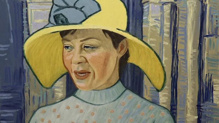 Helen McCrory as Louise Chevalier, the Gachet family's housekeeper