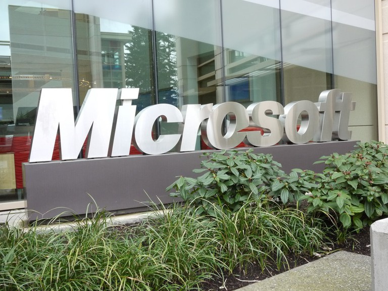 Microsoft Campus, Bellevue, WA | © bfishadow / Flickr