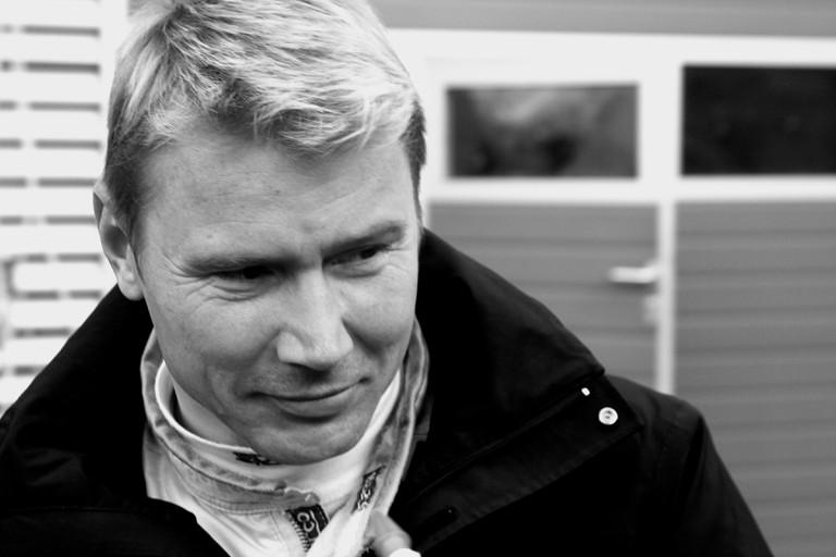 Two time Formula 1 world champion Mika Häkkinen