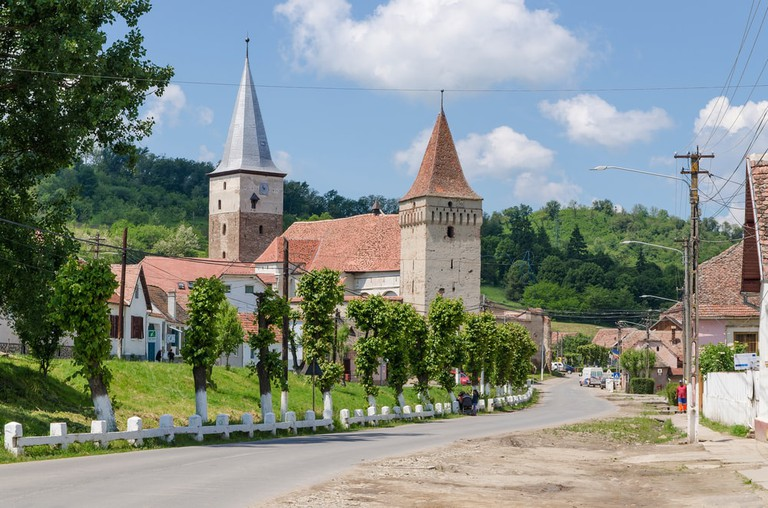 Mosna Fortified Church
