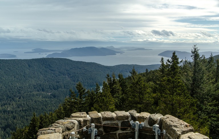 Mt. Constitution Viewpoint in Moran State Park