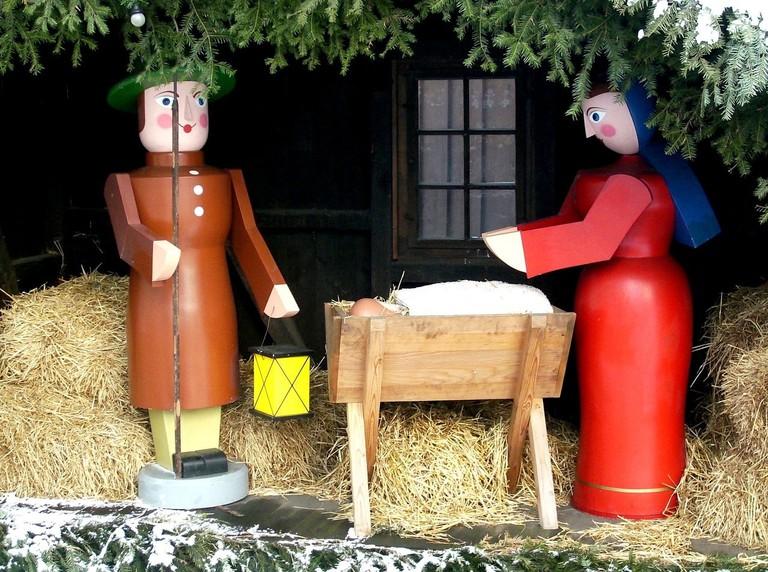 Wooden nativity scene, Seiffen