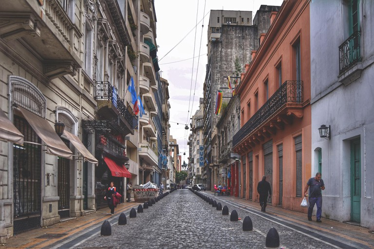Check out the San Telmo neighbourhood of Buenos Aires