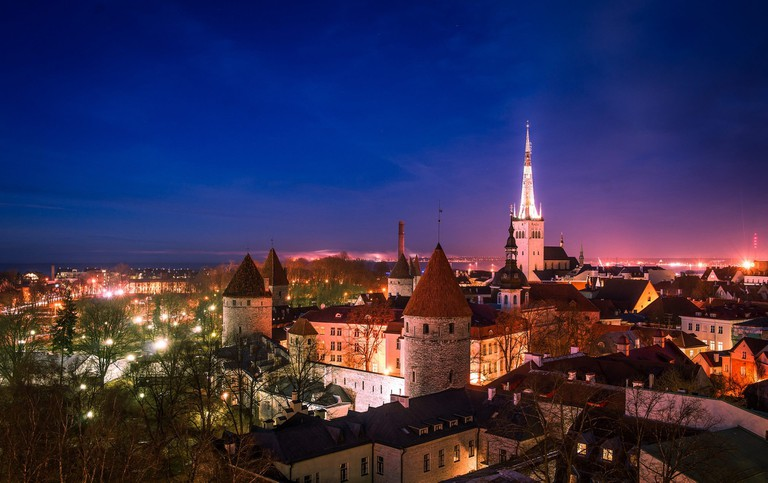 Nights in Tallinn