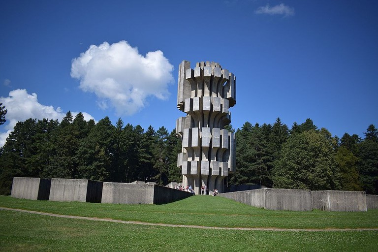 The bizarre Kozara Memorial | © Aleksandramaricphotography/WikiCommons