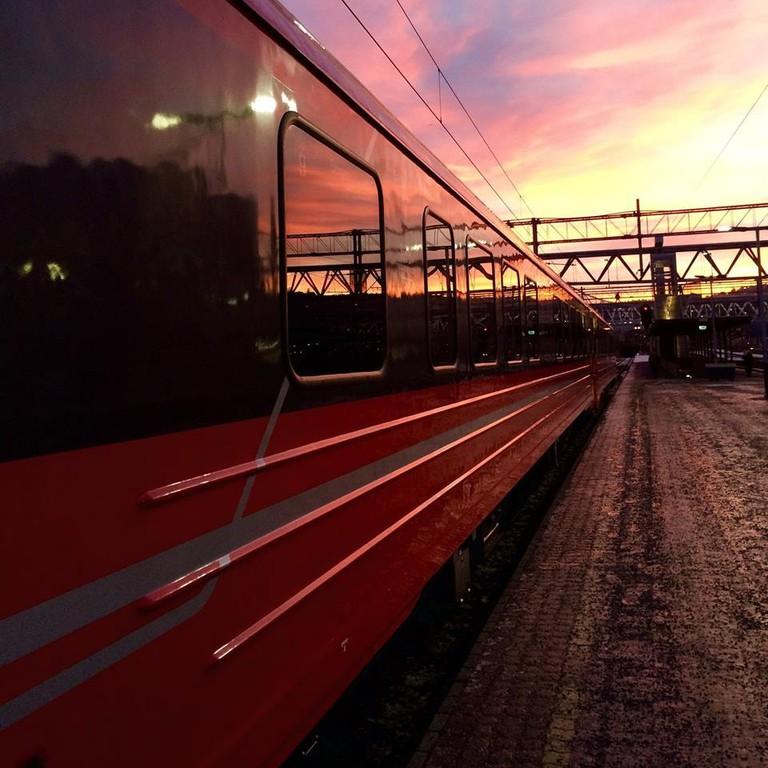 NSB train in Oslo