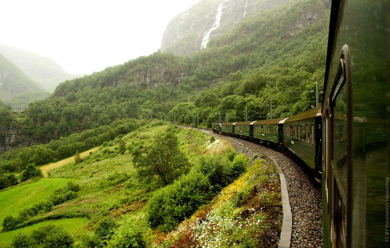 On board the Flåm Railway | © Konstantin Malanchev : Flickr