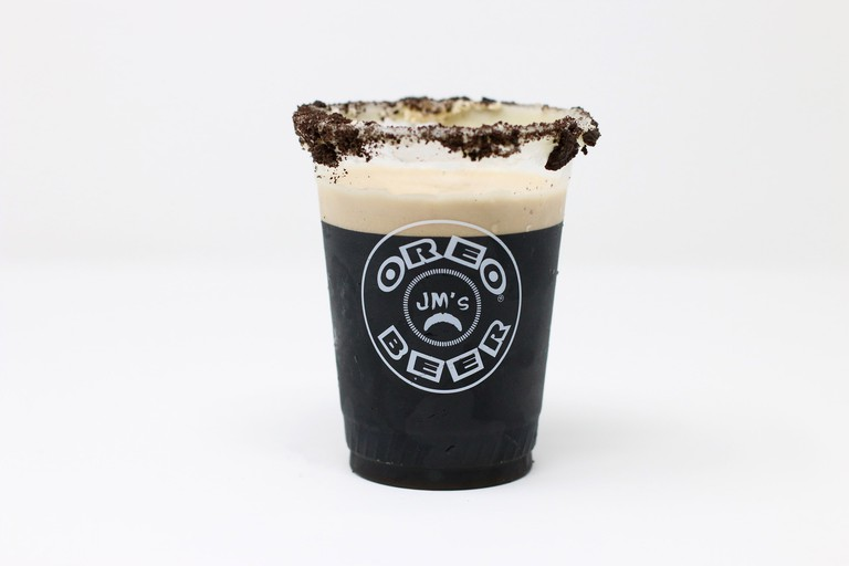 Oreo beer at the State Fair of Texas