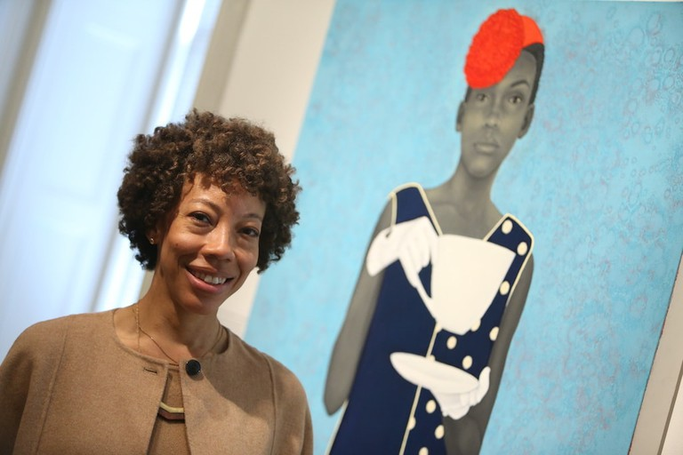 Amy Sherald | Paul Morigi, 2016/AP Images for National Portrait Gallery
