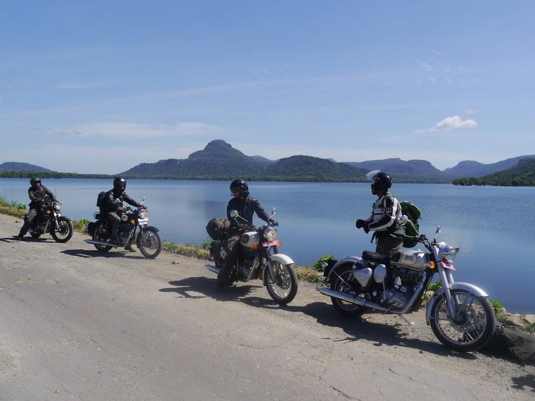 Gorgeous views on the roads in Sri Lanka
