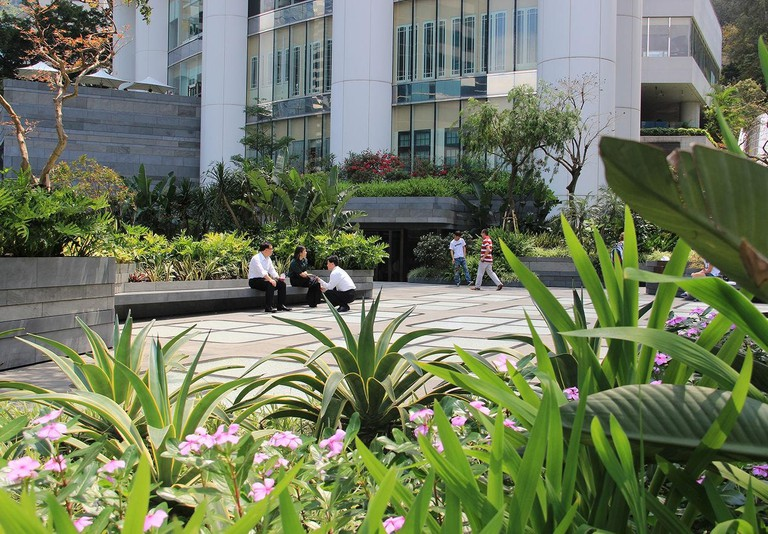 Garden at Pacific Place