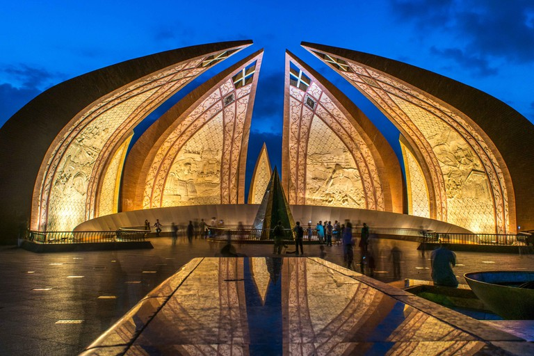 Pakistan Monument in Blue Hour
