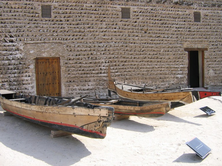 Traditional Pearl Diving Boats