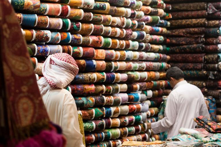 Traditional Saudi souq