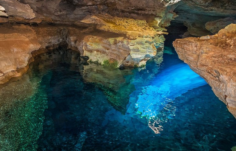 Poço Azul | © MAURICIO GOMES DE OLIVEIRA/WikiCommons