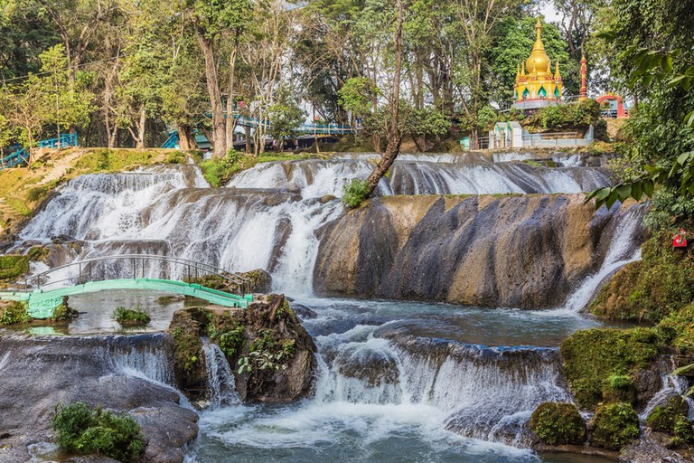 Pwe Gauk Falls outside of Pyin Oo Lwin, Myanmar