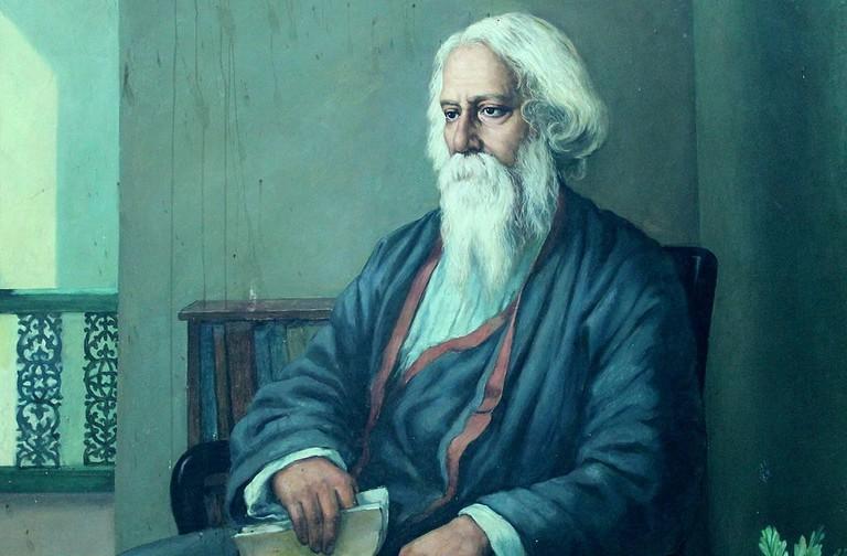 Rabindranath Tagore Cherishsantosh WikiCommons