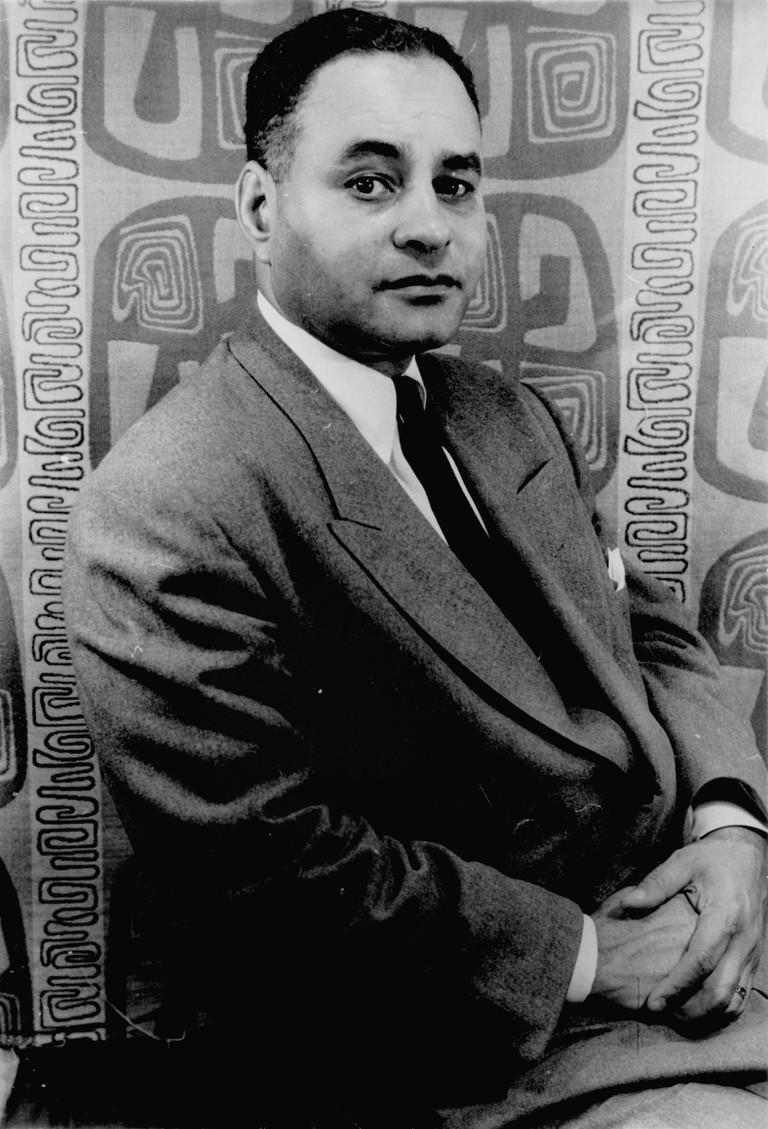 Portrait of Ralph Bunche