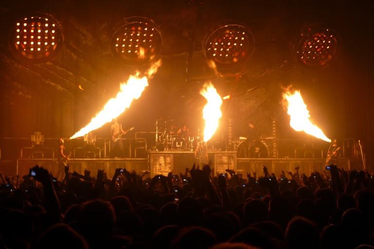 Rammstein at Bercy, Paris) in 2009
