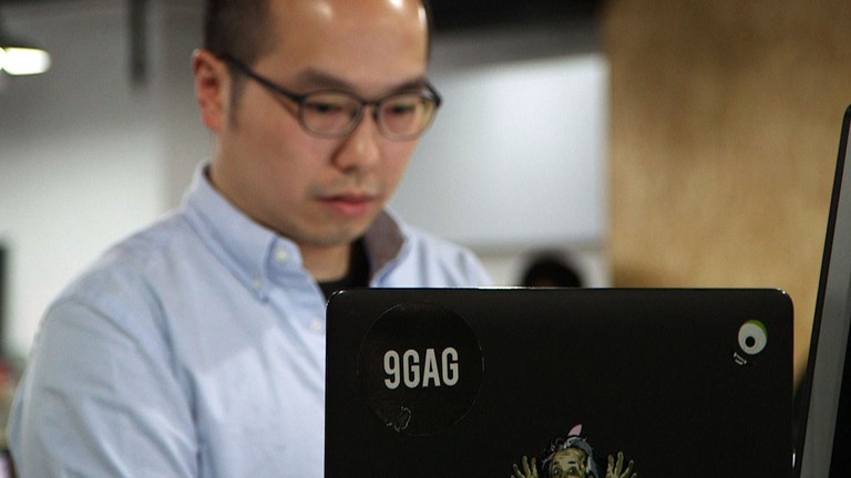 9GAG co-founder Ray Chan