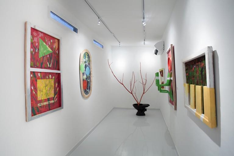 Interior of Rele Art Gallery, Lagos