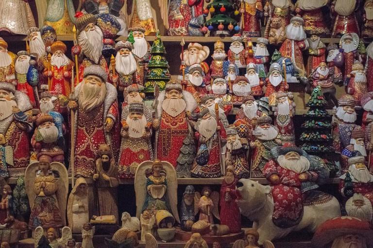 Christmas display in Kotor