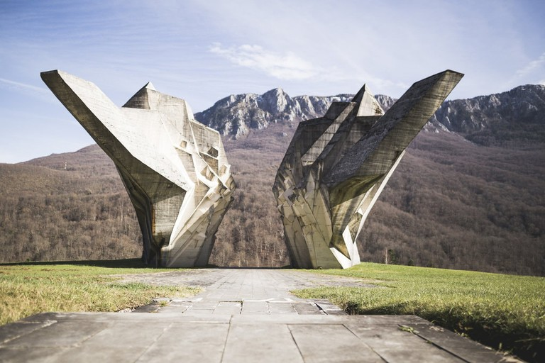 Monument to Battle of the Sutjeska's fallen soldiers | © Thierry Figini/Flickr