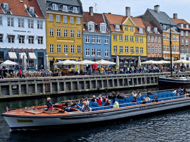 Canals Tour-Copenhagen-Boat Nyhavn