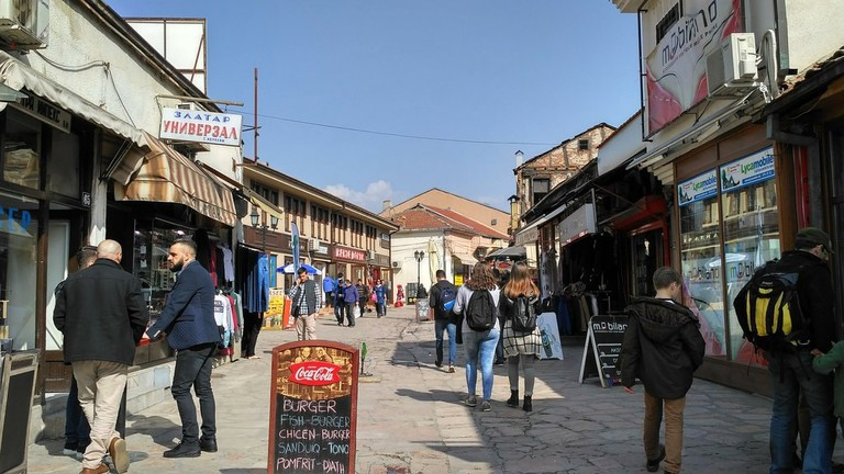 Old Bazaar Skopje | © Sam Bedford