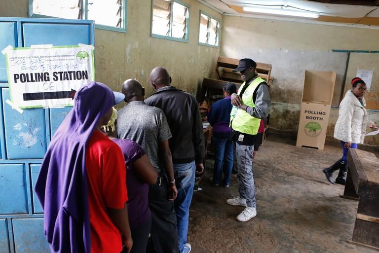 Kenya presidential elections re-run, Nairobi | © DANIEL IRUNGU/EPA-EFE/REX/Shutterstock