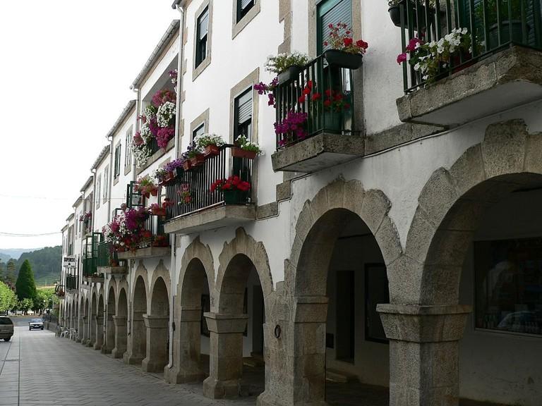 Portomarin, Spain | ©m.dolores paderne sa / Wikimedia Commons