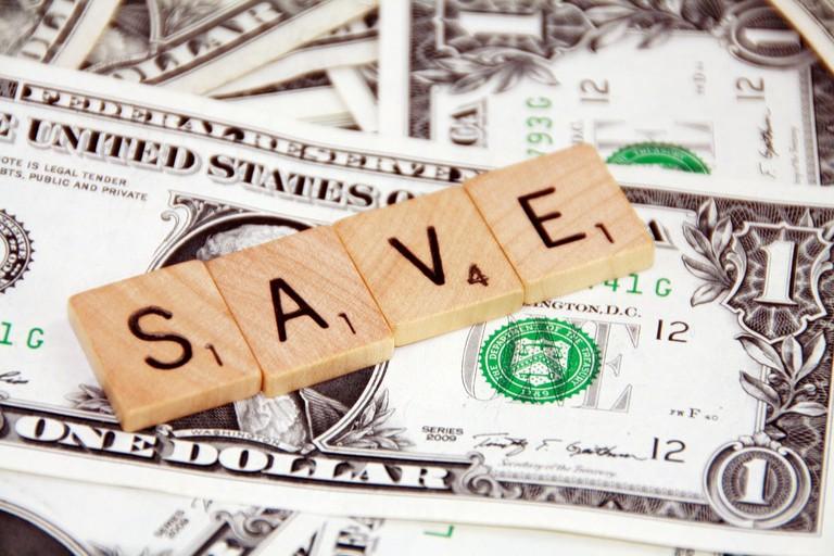 Saving money helps the economy