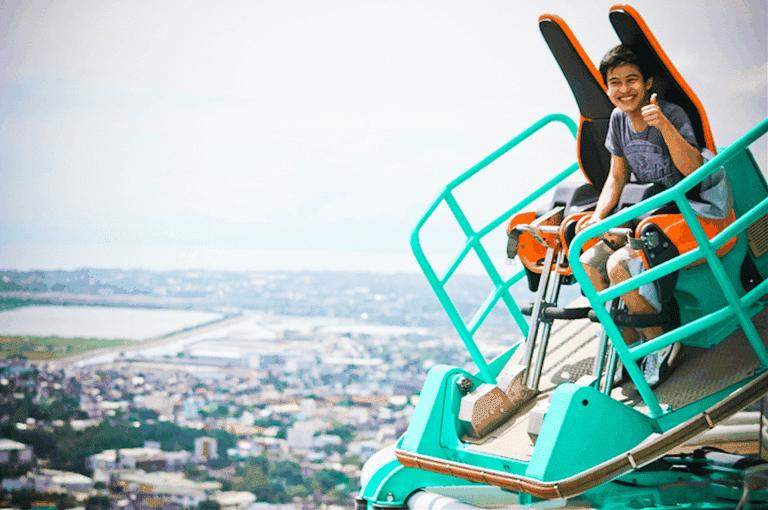 Riding the edge coaster