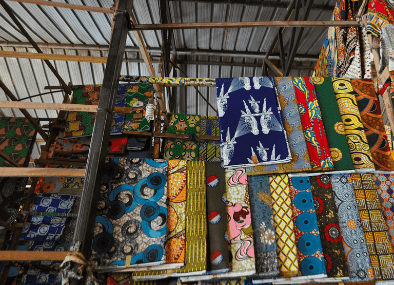 Kitenge fabric in Kimironko