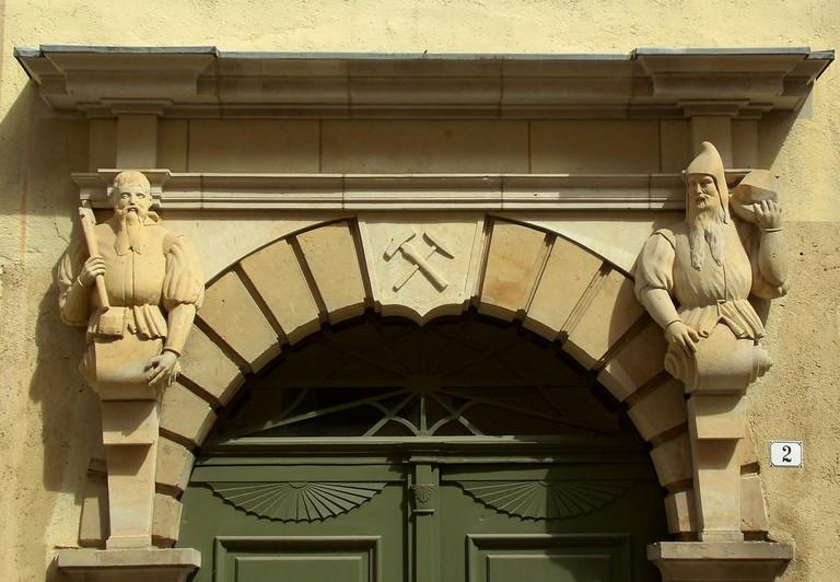 Architecture in Freiberg