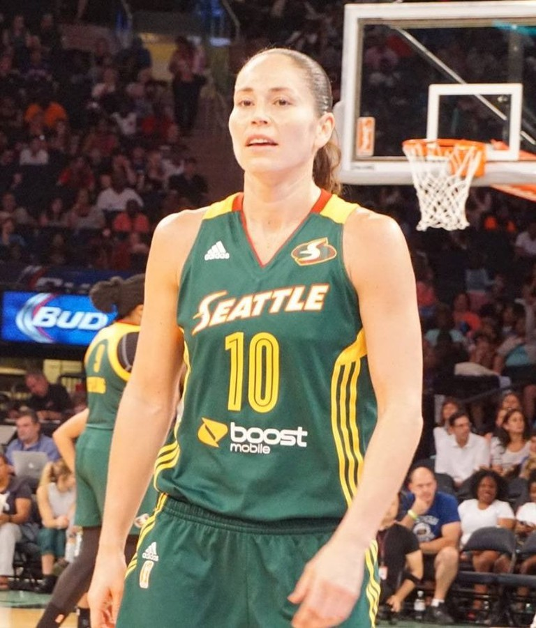 Seattle Storm Star Sue Bird | © Danny Karwoski / Wikimedia Commons