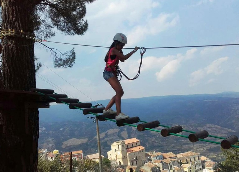 Sellia's new adventure park | © Courtesy of Davide Zicchinella