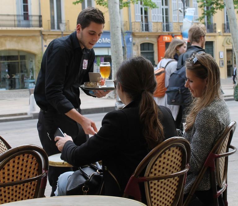 A server in Lyon