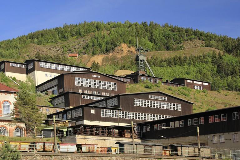 Mines of Rammelsberg, Goslar, Harz, Germany   © jopelka/Shutterstock