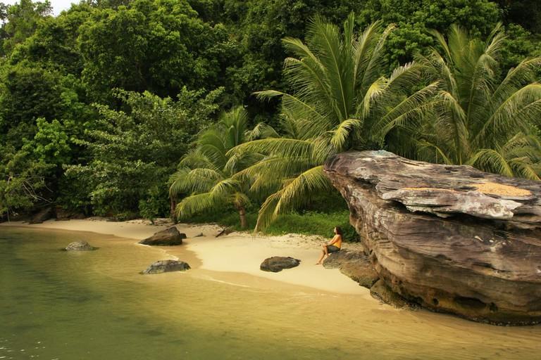 Enjoy nature at Ream Beach