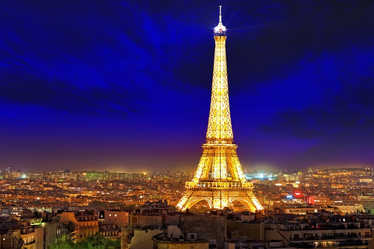 Hold off on the Eiffel Tower selfie – you're not allowed to photograph it at night