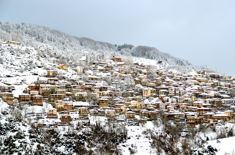 Metsovo in the winter