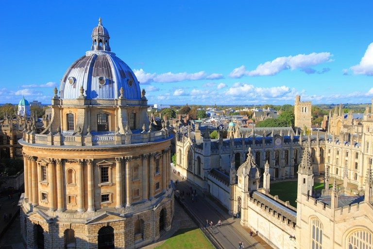 Oxford is the dining out capital of the UK