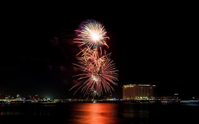 Water Festival fireworks