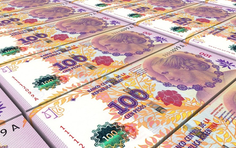 The new 100 peso bill