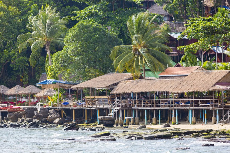 Party on Koh Toch